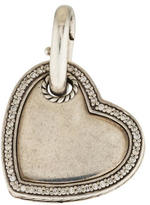 David Yurman Diamond Heart Pendant