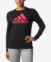 adidas Long-Sleeve Logo T-Shirt