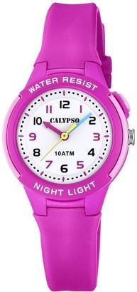Calypso Unisex Child Analogue Quartz Watch with Plastic Strap K6069/1