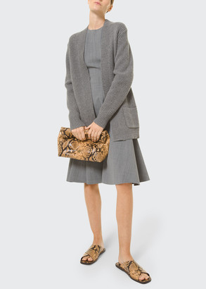Michael Kors Collection Open-Front Cashmere Cardigan