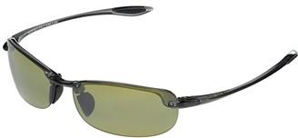 Maui Jim Makaha Reader Asian Fit 2.00 (Smoke Grey/Ht) Sport Sunglasses