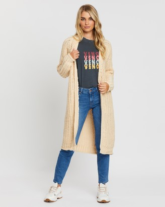 All About Eve Comfy Longline Cardigan