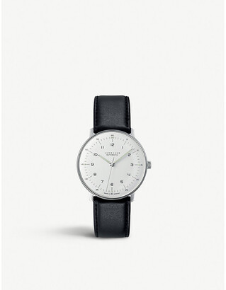 Junghans Women's Silver 027/3500.00 Max Bill Stainless Steel Watch