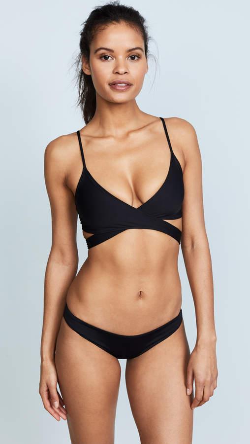 L-Space Sweet & Chic Chloe Wrap Bikini Top