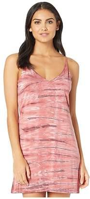 Young Fabulous & Broke Mini Slip Dress (Punch Ikat Wash) Women's Dress