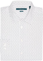 Perry Ellis Big and Tall Non-Iron Rectangle Print Shirt