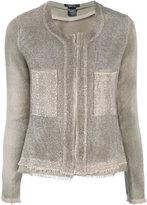 Avant Toi Corda jacket - women - Cotton/Linen/Flax/Polyamide - S