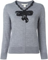Marc Jacobs sequinned bow cardigan