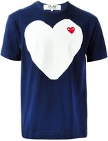Comme des Garcons embroidered heart T-shirt