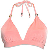 Nicolita Swimwear - New! Molded Push Up Bikini Top With Bust Support - Coral