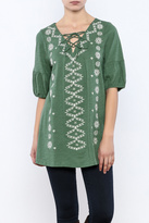 Easel Embroidered Tunic