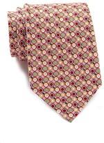 Tailorbyrd Fruit Print Silk Tie