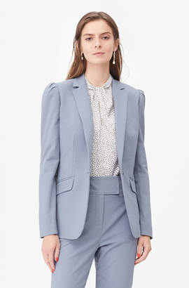Rebecca Taylor Tailored Stretch Modern Suiting Blazer