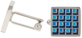 J.fold J-Fold Multi Colored Check Square Cuff Links