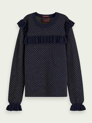 Scotch & Soda Fitted metallic pullover | Girls