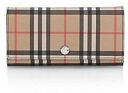 Burberry Women's Halton Vintage Check Continental Wallet