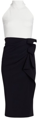 Chiara Boni Amenadiel Bic Halter Dress