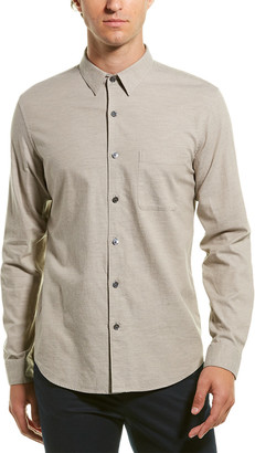 Theory Rammy Flannel Woven Shirt