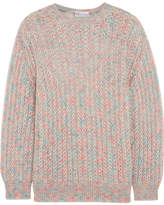 RED Valentino Cloud Mohair-blend Sweater - Blue