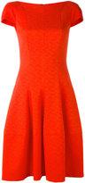 Talbot Runhof flared dress - women - Cupro/Polyester/Cotton/Spandex/Elastane - 34