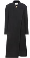 Chloé Virgin Wool And Angora Blend Coat