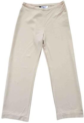 Marella Beige Trousers for Women