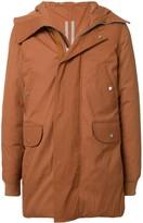 Rick Owens Jumbo zipped parka coat