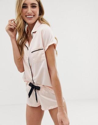 Bluebella Abigail Satin Short Pajama Set