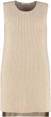 Max Mara Bosforo Ribbed Knit Top