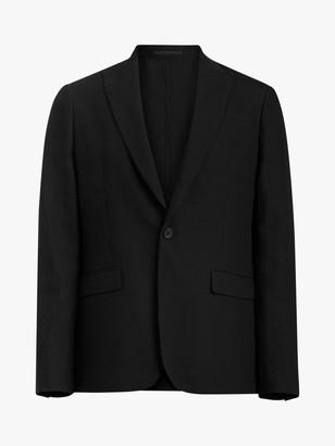 AllSaints Auroville Tailored Fit Blazer, Black