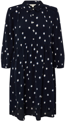 Under Armour Spot Print Short Dress in Sustainable Viscose Blue