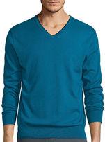 Claiborne Long-Sleeve Thermolite V-Neck Sweater