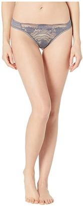 La Perla Lapis Lace G-String (Silver) Women's Underwear