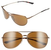 Smith Optics Women's 'Rockford Slim' 58Mm Polarized Sunglasses - Matte Desert