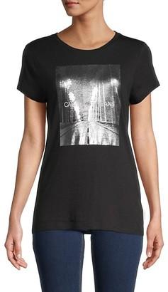 CK Calvin Klein Logo Graphic T-Shirt
