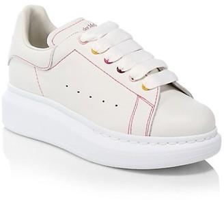 Alexander McQueen Little Girl's & Girl's Rainbow Sneakers