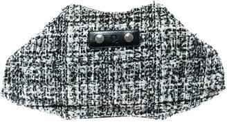 Alexander McQueen Manta Black Tweed Clutch bags