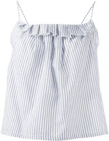 Bellerose frill trim vest top - women - Cotton/Linen/Flax/Lyocell - 0