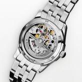 Bulova watch - women's stainless steel skeleton - 96r122