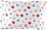 Luvable Friends Pink & Blue Dot Pillow Case