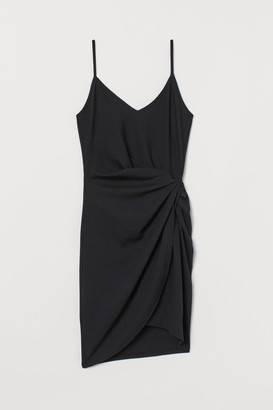 H&M Short Wrap Dress - Black
