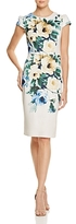 Betsey Johnson Floral-Print Scuba Dress