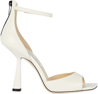 Jimmy Choo Reon 100 Leather Sandals