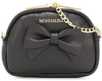 MonnaLisa Bow Detail Mini Bag