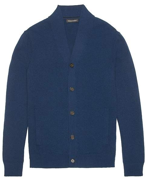81d7a9387c0 Shawl Collar Cardigan Front Pockets - ShopStyle