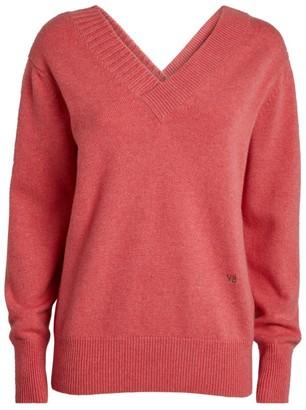 Victoria Beckham Cashmere V-Neck Sweater