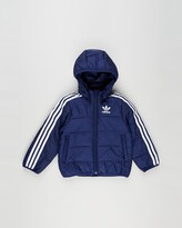 Thumbnail for your product : adidas Boy's Blue Winter Coats - Padded Winter Jacket - Kids-Teens - Size 12-13YRS at The Iconic
