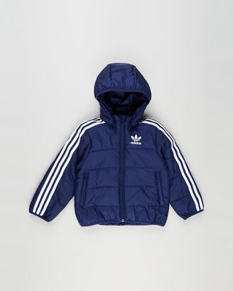 adidas Boy's Blue Winter Coats - Padded Winter Jacket - Kids-Teens - Size 12-13YRS at The Iconic
