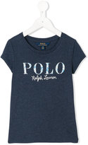 Ralph Lauren logo embroidered T-shirt