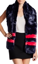 Free Press Faux Fur Scarf